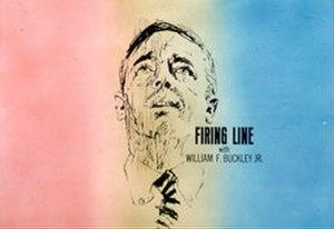 Firing Line (TV series) - Title screen from the first season of Firing Line