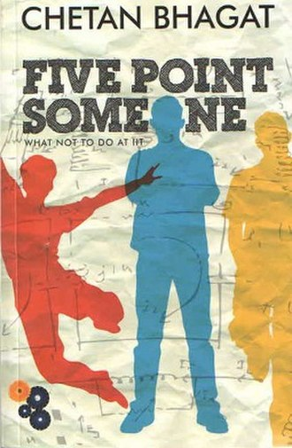 Five Point Someone - First edition cover