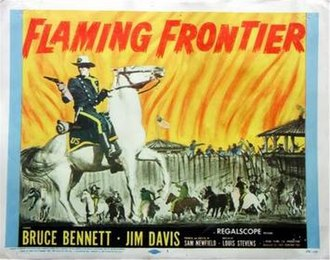 Flaming Frontier - Theatrical poster