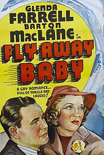 <i>Fly-Away Baby</i> 1937 film by Frank McDonald