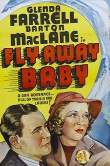 Fly Away Baby movie poster.jpg
