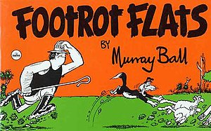 Footrot Flats - The first edition of the book Footrot Flats released in 1978