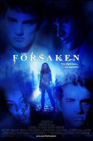 The Forsaken (film) - Theaterial release poster