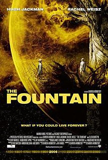 <i>The Fountain</i> 2006 American science fiction romantic drama film directed by Darren Aronofsky