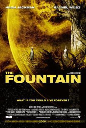 The Fountain - Theatrical release poster