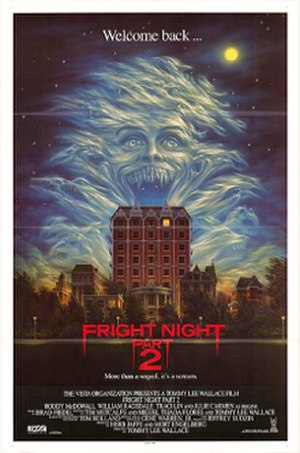 Fright Night Part 2 - Promotional poster