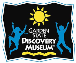 Image result for garden state discovery museum logo