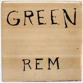 R.E.M. (EP) - Image: Green REM