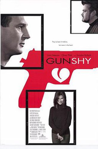 Gun Shy (2000 film) - Theatrical release poster