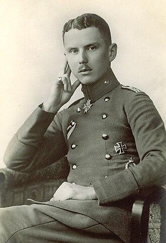 Hans Berr - Hans Berr in 1916