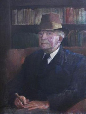 H. W. Garrod - Portrait of Garrod by Irish-Spanish painter Rodrigo Moynihan (1910–1990)