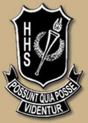 Hillsborough High School (Tampa, Florida) - Image: Hhs tampa logo