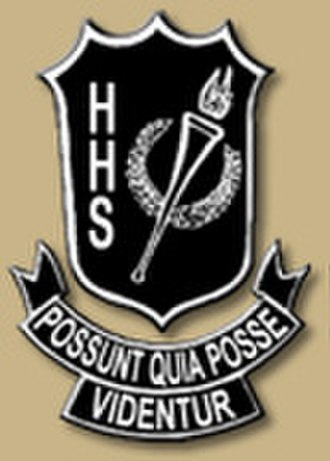 Hillsborough High School (Tampa, Florida) - Image: Hhs tampa logo