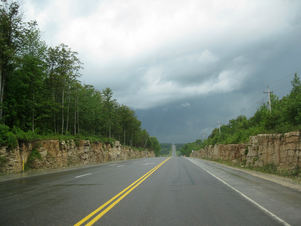 Highway 26 between Meaford and Owen Sound