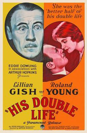 His Double Life - His Double Life (1933) Movie Poster.