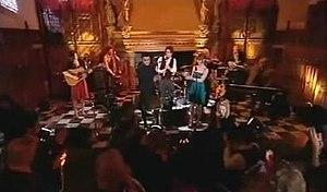 Hogmanay Live - Leon Jackson performs on Hogmanay Live 2008
