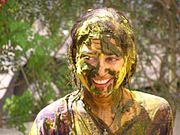 Playing a Natural Holi in Pune
