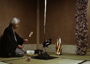 Drawing Restraint 9 - The Host conducts the tea ceremony for the Occidental Guests