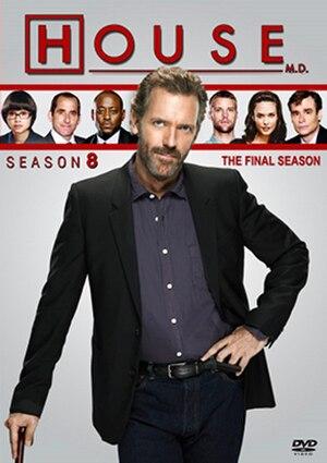House (season 8) - Image: House S8 DVD