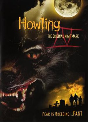 Howling IV: The Original Nightmare - Video release cover