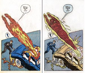 Human Torch - Image: Human Torch appearance