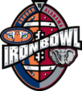 Iron Bowl Alabama–Auburn college football rivalry