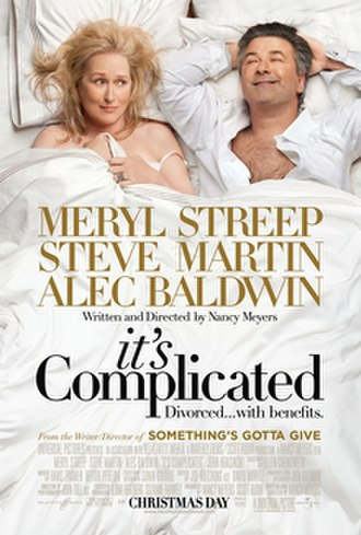 It's Complicated (film) - Theatrical release poster