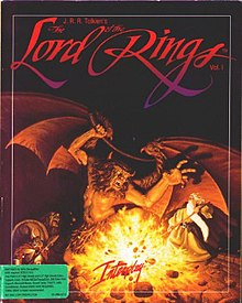 J.R.R. Tolkien's The Lord of the Rings, Vol. I Amiga cover art.jpg