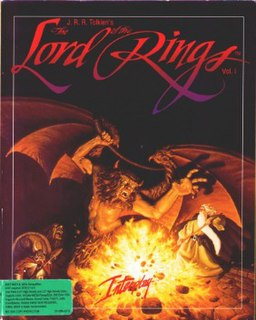 <i>J.R.R. Tolkiens The Lord of the Rings, Vol. I</i> (1990 video game) DOS game