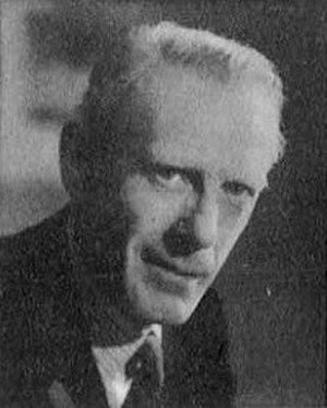 J. F. Horrabin - Portrait of Horrabin by Howard Coster, ca. 1945
