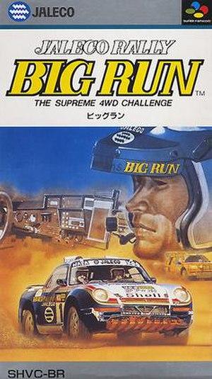 Big Run (video game) - Cover art