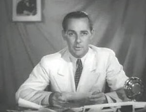 Jimmie Fidler - Jimmie Fidler in a scene from Personality Parade (1938).