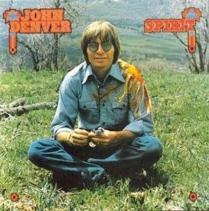 Spirit (John Denver album) - Image: John Denver Spirit album cover