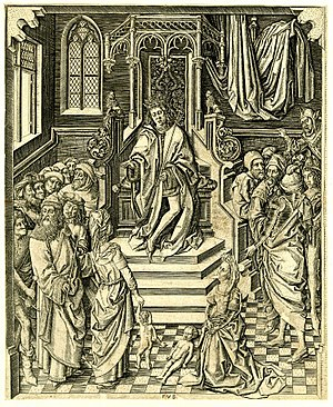 Heures de Charles d'Angoulême - Master FVB's engraving