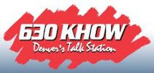 KHOW - former logo