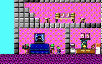 Id Software - Screenshot of a Commander Keen game, Keen Must Die!