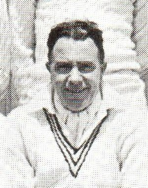 Ken James (cricketer) - Ken James in 1934