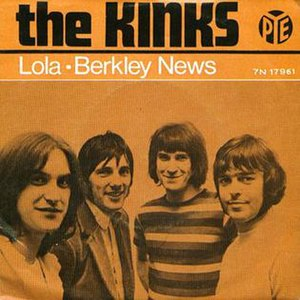 Lola (song) - Image: Kinks 1970 Europe Lola Cover