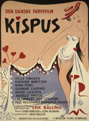 Kispus - Theatrical release poster
