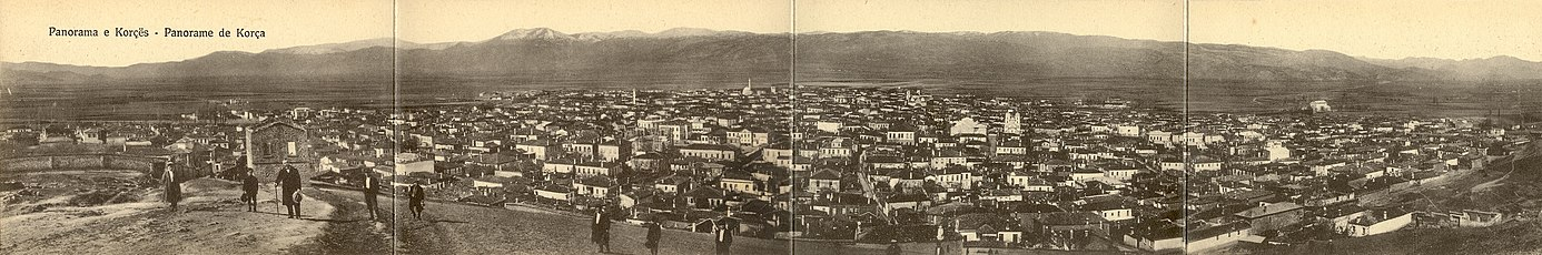 Korce panorama 1914.jpg