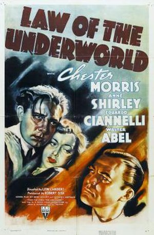 Law of the Underworld - Theatrical release poster