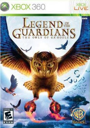 Legend of the Guardians: The Owls of Ga'Hoole (video game) - Image: Legend of the Guardians The Owls of Ga Hoole (video game)