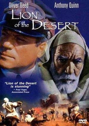 Lion of the Desert - Lion of the Desert DVD cover