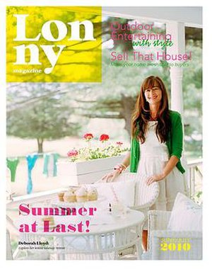 Lonny (magazine) - Image: Lonny Cover