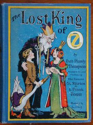 The Lost King of Oz - Image: Lost king cover