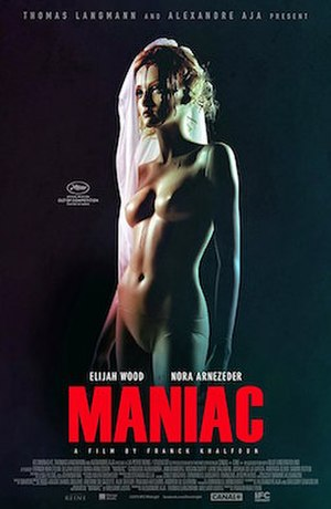Maniac (2012 film) - Theatrical release poster