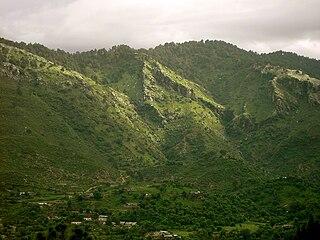 Margalla Hills mountain range