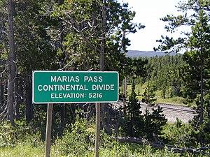 Marias Pass - Image: Marias Pass