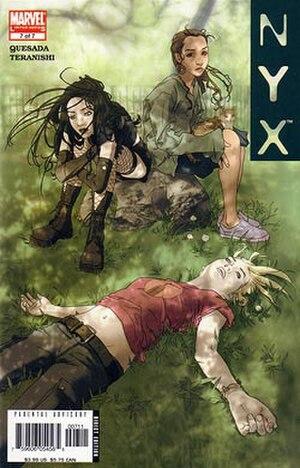 NYX (comics) - Image: Marvel NYX 6