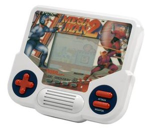 Mega Man 2 - Tiger Electronics released an LCD version of the game.